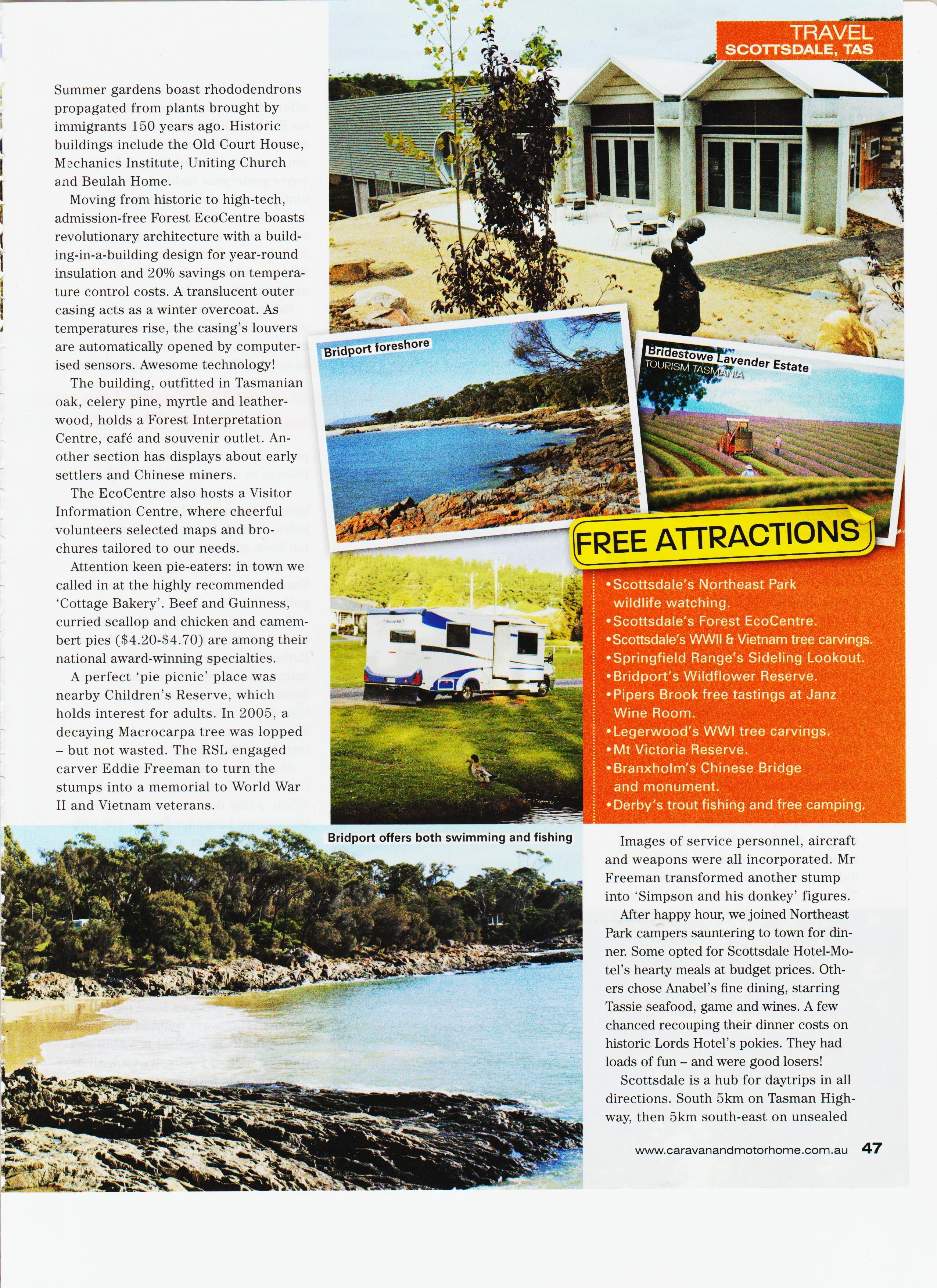 TASMANIA – Memoirs and Travels of Gordon and Pam